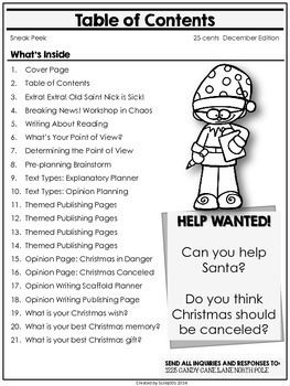 Christmas Activities for 3-5