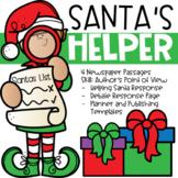 Christmas Writing Activities: Santa's Little Helper