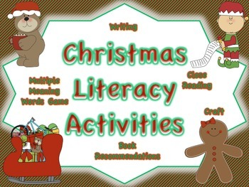 Christmas Reading and Writing Activities