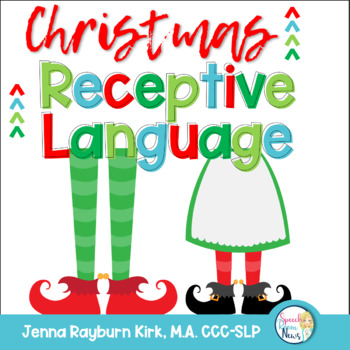 Christmas Receptive Language Packet: Speech & Language Therapy