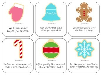 Christmas Receptive Language Packet: Speech & Language Therapy