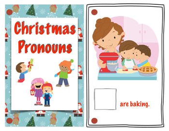 Christmas Receptive and Expressive Language