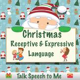 Christmas Receptive and Expressive Language