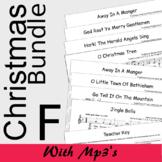 Christmas Recorder Sheet Music - MEGA Bundle - Save 20% F