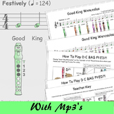 Christmas Recorder Sheet Music - Good King Wenceslas