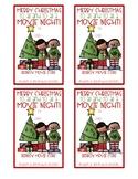 """Christmas Redbox and """"Dough""""lightful Gift Tags"""