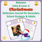 Christmas Reflection Journal & Writing Prompts for Seconda
