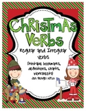 Christmas Regular & Irregular Verbs Printables with CCSS!!