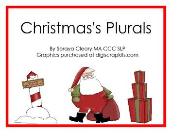 Christmas Regular Plurals