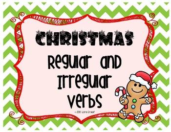 Christmas Regular and Irregular Verbs