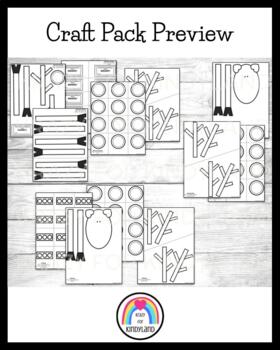 Reindeer Craft, Hat, and Gift Bag Combo Pack (Christmas)