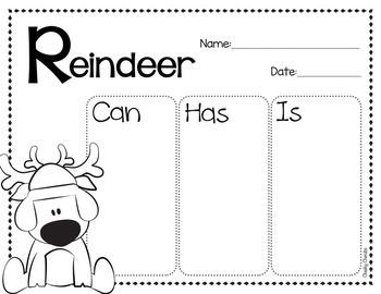 Reindeer - Craft and Activities