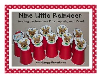 Christmas Reindeer Emergent Reading Activities