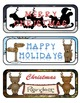Christmas Reindeer Mini Fold-Ems and Writing Templates