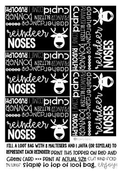 Christmas Reindeer Noses