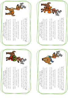 Christmas Reindeer Poop Poem