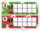 Christmas Reindeer Ten Frame Cards