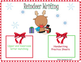 Christmas Reindeer Writing Practice Games