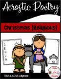 Christmas (Religious) Acrostic Poetry