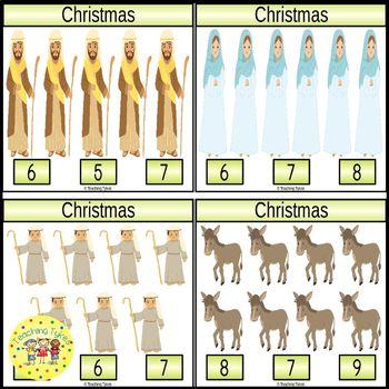 Christmas Clip Task Cards