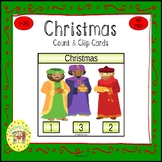 Christmas Clip Task Cards
