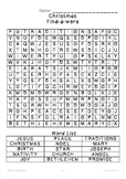 Christmas (Religious) ~Find-a-word~ Word Search