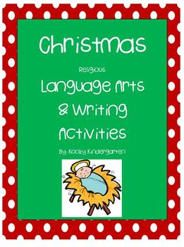 Christmas Religious Language Arts Activites
