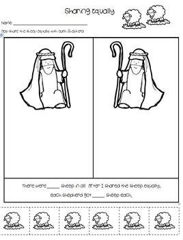 Christmas Religious   Math Activities