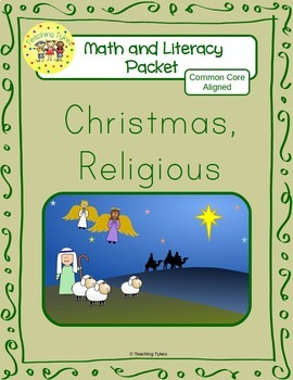 Christmas Religious Worksheets Emergent Reader Task Cards