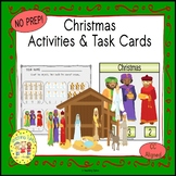 Christmas Religious Activities and Task Cards