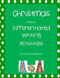 Christmas Religious Writing   Differentiated