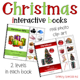 Christmas Adapted Books - Repetitive Readers for Special Ed