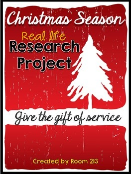 Christmas Research Project: Give the Gift of Service