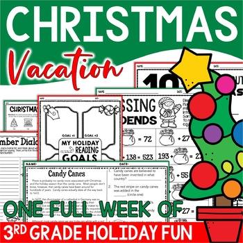 Christmas Resource Mega Pack - 3rd Grade