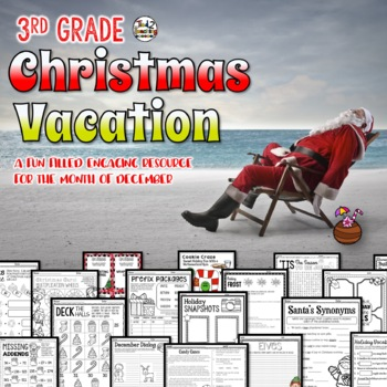 Christmas Activities and Printables - 3rd Grade 100+ pages