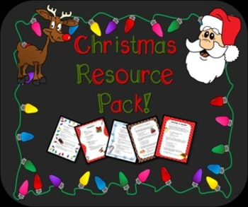 Christmas Resource Pack!