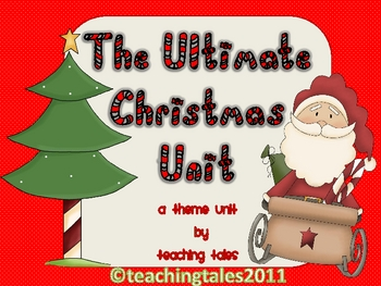 Christmas Resource The Ultimate Christmas Unit