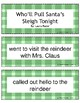 Christmas Retell and Sequence Cards: Who'll Pull Santa's Sleigh Tonight