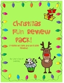 Christmas Review Fun Pack