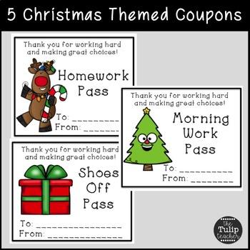 Free Christmas Gifts {Reward Coupons}