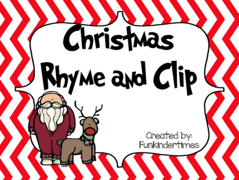 Christmas Rhyme and Clip