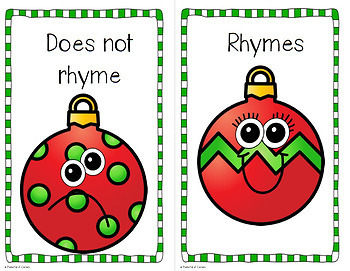 Christmas Rhymes