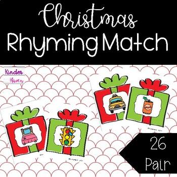 Christmas Rhyming Center