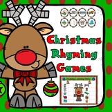 Christmas Rhyming Games