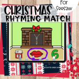 Christmas Rhyming Match Seesaw Activity
