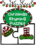 Christmas Rhyming Puzzles
