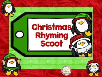 Christmas Rhyming Scoot