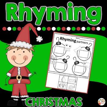 Christmas - Rhyming printables