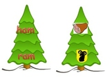 Christmas Rhyming words stockings tree ESL hands on COMMON CORE
