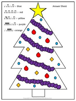 Christmas Rhythm Listening Tree